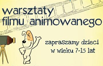 Zdjęcie Warsztaty Pracowni Filmu Animowanego -nabór