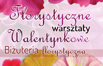 Zdjęcie Florystyczne warsztaty Walentynkowe