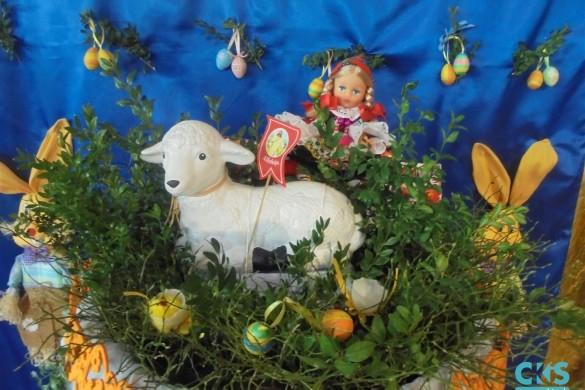"""Relacja Wielkanoc wKlubie seniora """"Ustronie"""""""