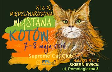 Zdjęcie XI &XII Międzynarodowa Wystawa Kotów