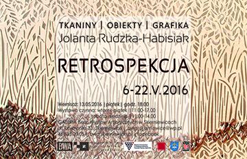 Zdjęcie RETROSPEKCJA, wystawa prac Jolanty Rudzkiej Hibisiak