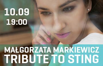 Zdjęcie MAŁGORZATA MARKIEWICZ TRIBUTE TO STING
