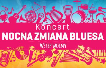 Relacja Koncert Sławek Wierzcholski iNocna Zmiana Bluesa |Scena Plenerowa CKiS