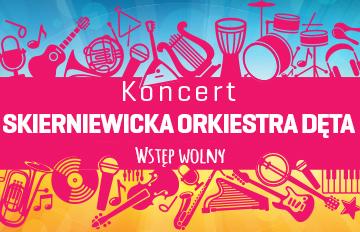 Zdjęcie Scena plenerowa CKiS: Skierniewicka Orkiestra Dęta wSkierniewicach