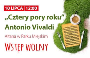 """Relacja Muzyczne Śniadanie na trawie: """"Apertus Quartet"""" iMaciej Łabecki (skrzypce) """"Cztery pory roku"""" Antonio Vivaldi"""