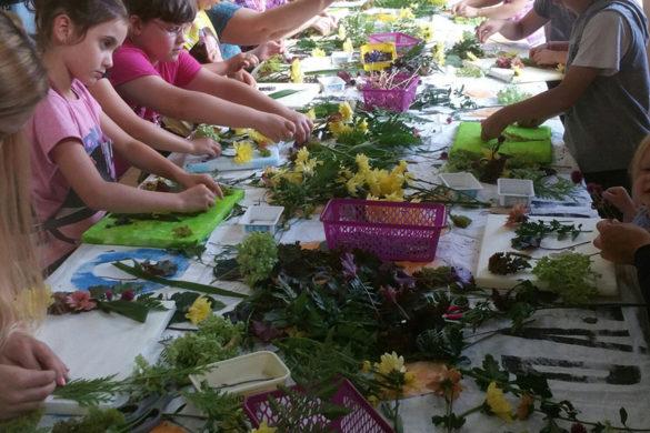 Relacja Wakacyjne warsztaty florystyczne dla dzieci