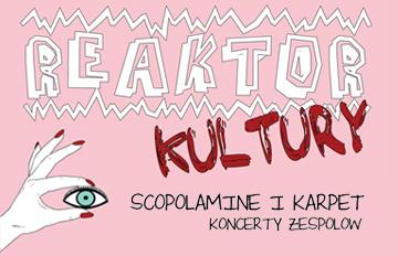 Relacja Koncert Scopolamine +Karpet