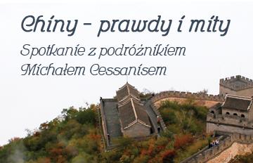 """Zdjęcie """"Chiny: prawdy imity"""" -spotkanie zpodróżnikiem Michałem Cessanisem"""