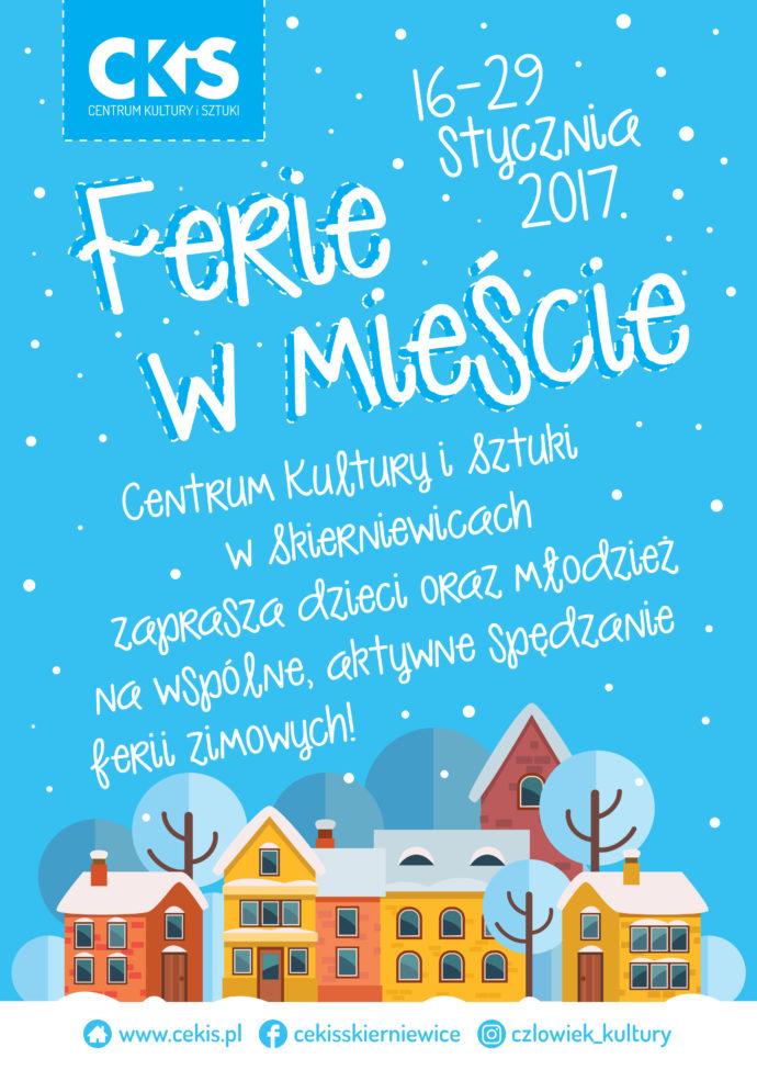 350105b9427a00 Ferie zimowe dla dzieci i młodzieży - Centrum Kultury i Sztuki w ...