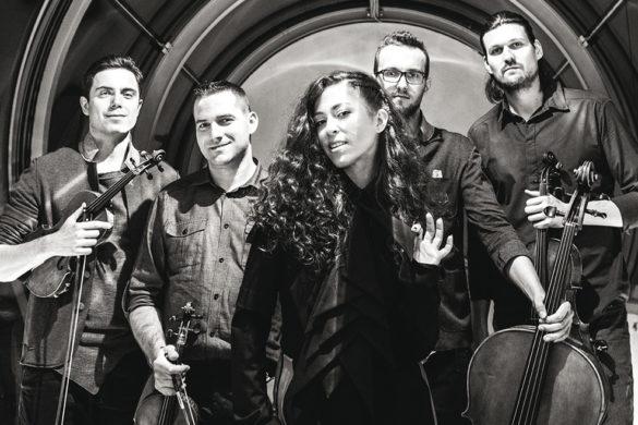 Zdjęcie Koncert Natalii Kukulskiej & Atom String Quartet ztowarzyszeniem Michała Dąbrówki