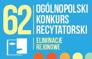 Relacja 62. Ogólnopolski Konkurs Recytatorski -eliminacje rejonowe