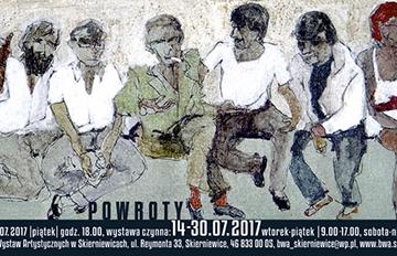 """Zdjęcie Wystawa """"Powroty"""" zkolekcji BWA"""