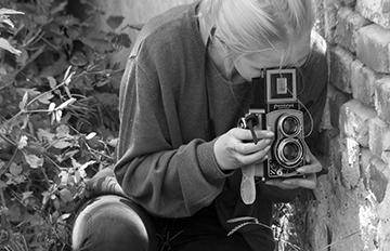 """Zdjęcie Wystawa fotografii tradycyjnej czarno-białej pt: """"Skierniewicka ulica wobiektywie"""""""