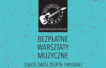 """Zdjęcie Warsztaty wramach projektu: """"Rockowanie. Muzyczny dialog pokoleń"""""""