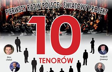 Zdjęcie Koncert 10 Tenorów