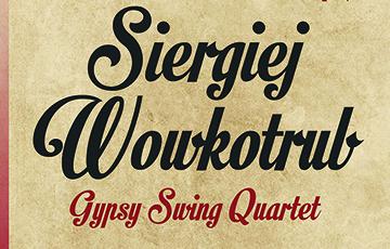 Zdjęcie Klub jazzowy SWING: Siergiej Wowkotrub Gypsy Swing Quartet