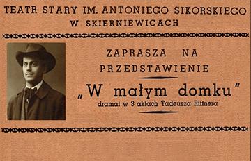 Zdjęcie Dni Teatru: Wmałym domku /Teatr Stary im. Antoniego Sikorskiego wSkierniewicach