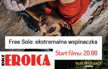 Zdjęcie DKF Eroica: Free Solo: ekstremalna wspinaczka