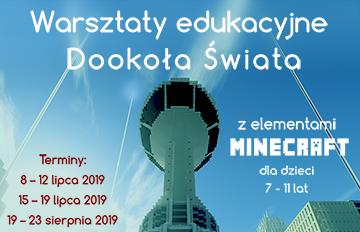 Zdjęcie Minecraft -Wakacyjne warsztaty edukacyjne dookoła świata