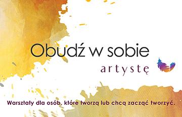 Zdjęcie Warsztaty dla dorosłych: Obudź wsobie artystę