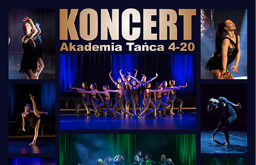 Zdjęcie Zaczarowani tańcem -Koncert Akademii Tańca 4-20