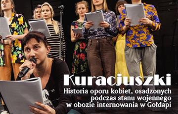 Zdjęcie Kuracjuszki -spektakl Stowarzyszenia Pedagogów Teatru