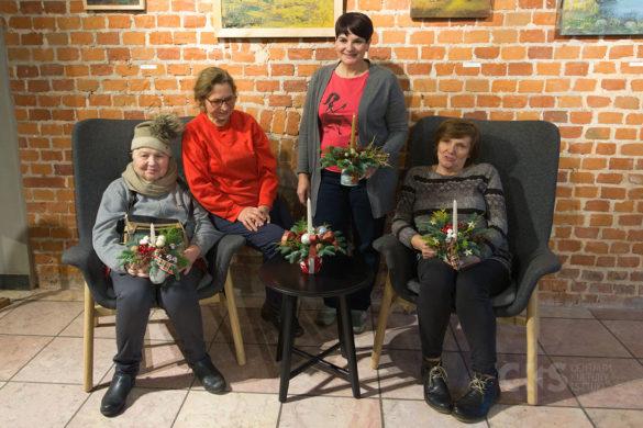 Relacja Warsztaty florystyczne Uniwersytetu Trzeciego Wieku