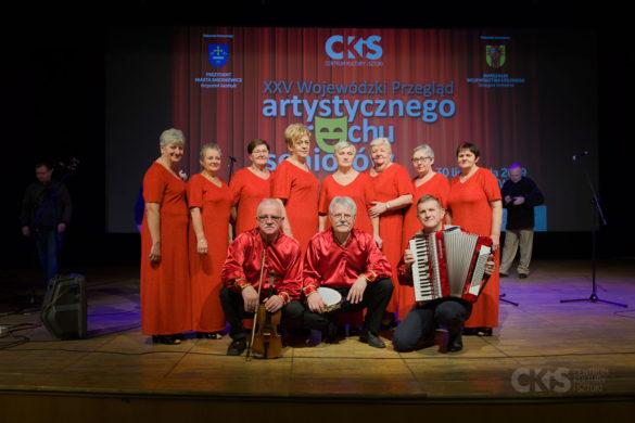Relacja XXV Wojewódzki Przegląd Artystycznego Ruchu Seniorów już za nami!