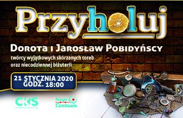 Zdjęcie Przyholuj we wtorek. Spotkanie zDorotą iJarosławem Pobidyńskimi