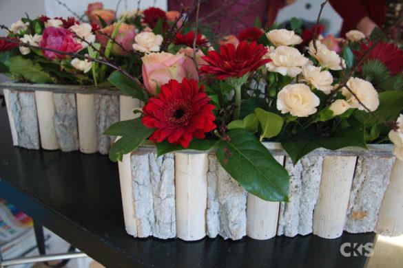 Relacja Warsztaty florystyczne UTW: Aranżacje obsadzane