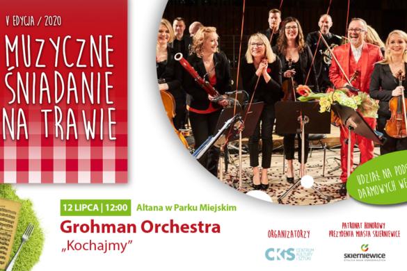"""Zdjęcie Muzyczne śniadanie na trawie: Grohman Orchestra """"Kochajmy"""""""