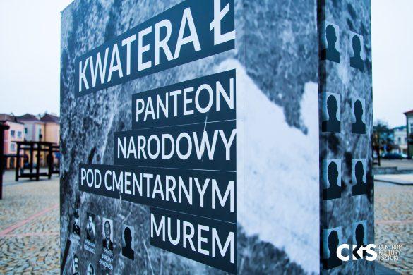 """Relacja Wystawa """"Kwatera Ł – panteon narodowy pod cmentarnym murem"""""""