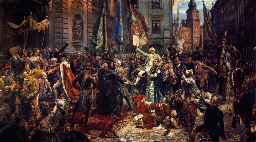 Historia Jednego Obrazu: Kosztytucja 3 Maja 1791 roku