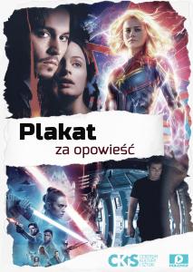 akcja - plakat za opowieść plakat