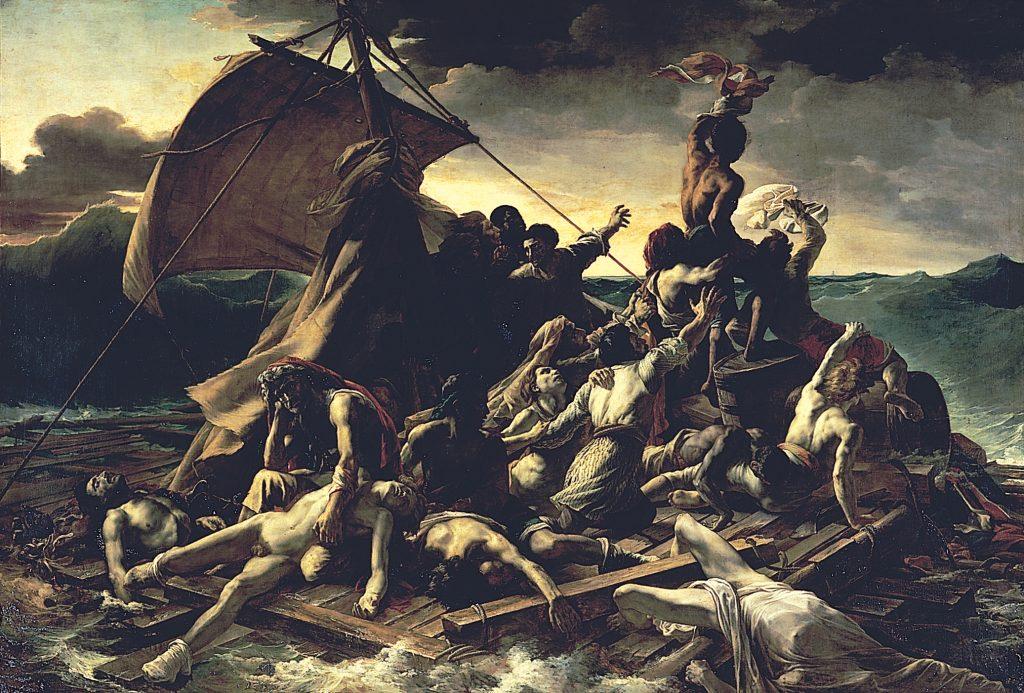 Tratwa Meduzy – Théodore Géricault