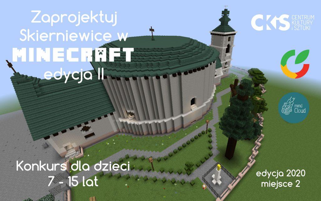 Zaprojektuj Skierniewice w Minecraft