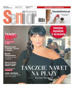 Strona tytułowa Gazety Senior