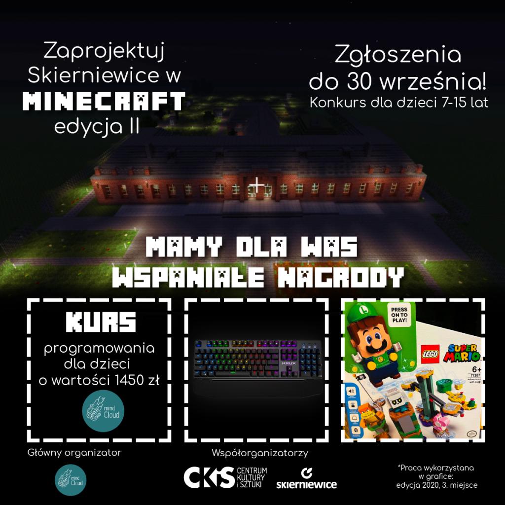 Nagrody w Minecraft